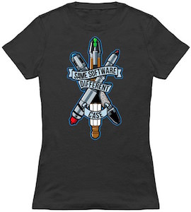 Sonic Screwdriver Same Software Different Case T-Shirt