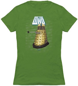 Dalek Exterminate Logo T-Shirt