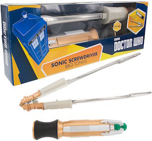 BBQ Thongs Shaped Like A Sonic Screwdriver