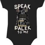 Dalek Baby bodysuit