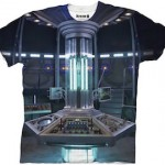Doctor Who Tardis Console T-Shirt