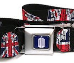 Doctor Who Tardis Union Jack Belt