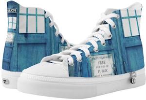 High Top Tardis Sneakers