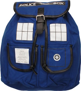 Tardis Slouch Backpack