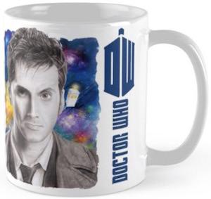 10th Doctor Who Mug