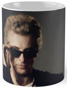 12th Doctor With Sonic Sunglasses Mug