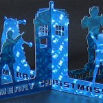 Special Doctor Who 3D Greeting Card