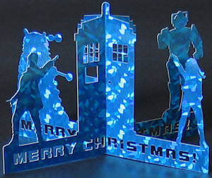 Doctor Who 3D Greeting Card