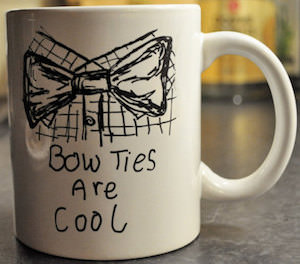 Bow Ties Are Cool And So Is The Doctor Mug