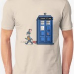 Tardis Gets A Parking Ticket T-Shirt