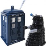 Doctor Who Dalek And Tardis Sugar And Cream Set