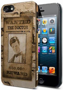 Wanted The Doctor iPhone SE Case