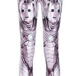 Doctor Who Cybermen Leggings