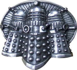 Pewter Dalek Belt Buckle