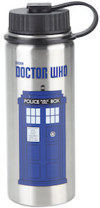Tardis Stainless Steel Water Bottle