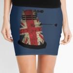 Dr. Who Union Jack Dalek Skirt