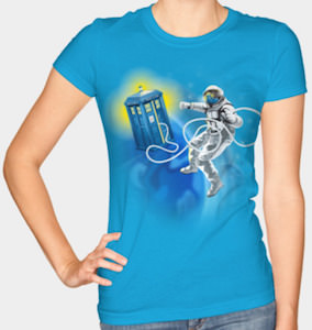 Tardis Space Walk T-Shirt
