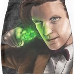 11th Doctor And His Sonic Screwdriver Pencil Skirt
