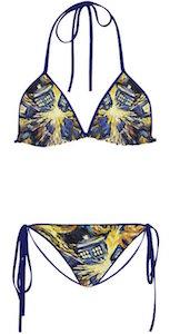 Women's Exploding Tardis Bikini Set