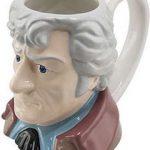 3rd Doctor Who Head Coffee Mug