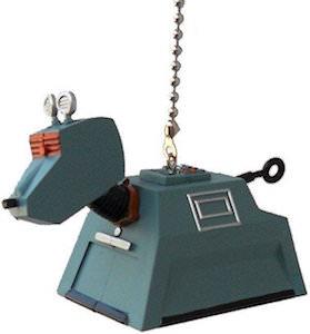 K-9 Ceiling Fan Pull That Looks Like The Robot Dog
