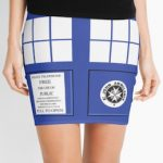 Tardis Doors Women's Skirt