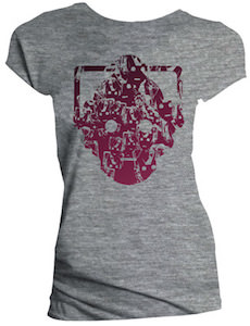 Women's Grey Cybermen T-Shirt