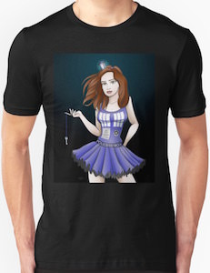 Female Tardis The Looks Like Amy T-Shirt