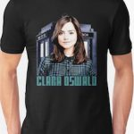 Dr. WHo Clara Oswald Portrait T-Shirt