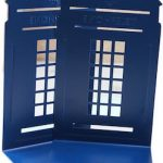 Doctor Who Blue Tardis Bookends
