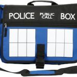 Dr. Who Tardis Messenger Bag
