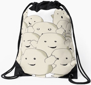 Adipose Drawstring Backpack