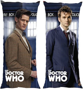 10th And 11th Doctor Body Pillow
