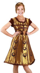 Women's Dalek Halloween Costume