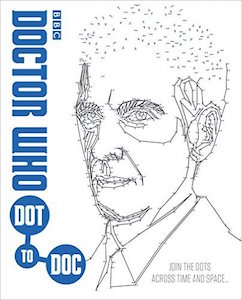 Doctor Who Connect The Dots Book