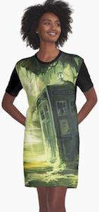 Tardis In A Swamp Dress