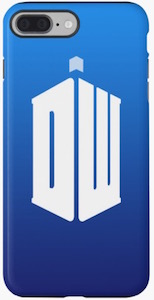 Doctor Who Logo iPhone Case