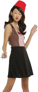 Women's 11th Doctor Costume Dress