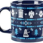 Doctor Who Ceramic Ugly Sweater Christmas Mug