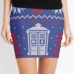 Doctor Who Fair Isle Christmas Skirt