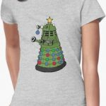 Doctor Who Dalek As Christmas Tree T-Shirt