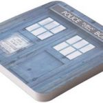 Doctor Who Tardis Paper Coasters