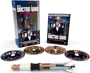 Doctor Who Specials Christmas Gift Set On DVD Or Blu-Ray