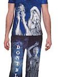 Doctor Who Weeping Angel Pajama Set