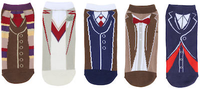 Doctor Who Costume Socks From 5 Doctors