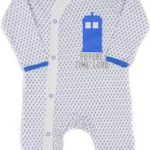 Future Time Lord And Tardis Baby Pajama