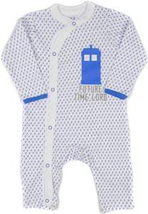 Future Time Lord And Tardis Baby Pajama