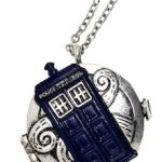 Dr Who Tardis Compass Necklace