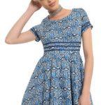 Doctor Who Tardis Art Nouveau Print Dress