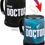 Doctor Who Logo Heat changing Mug